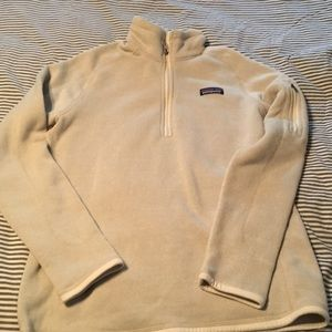 Women's Patagonia Better Sweater 1/4 zip size M